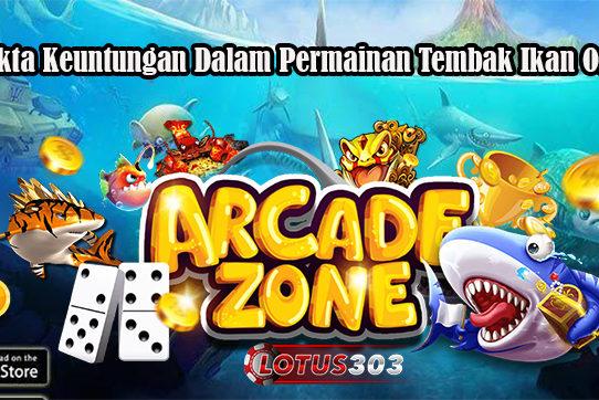 3 Fakta Keuntungan Dalam Permainan Tembak Ikan Online