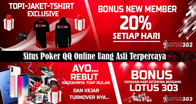 Situs Poker QQ Online Uang Asli Terpercaya
